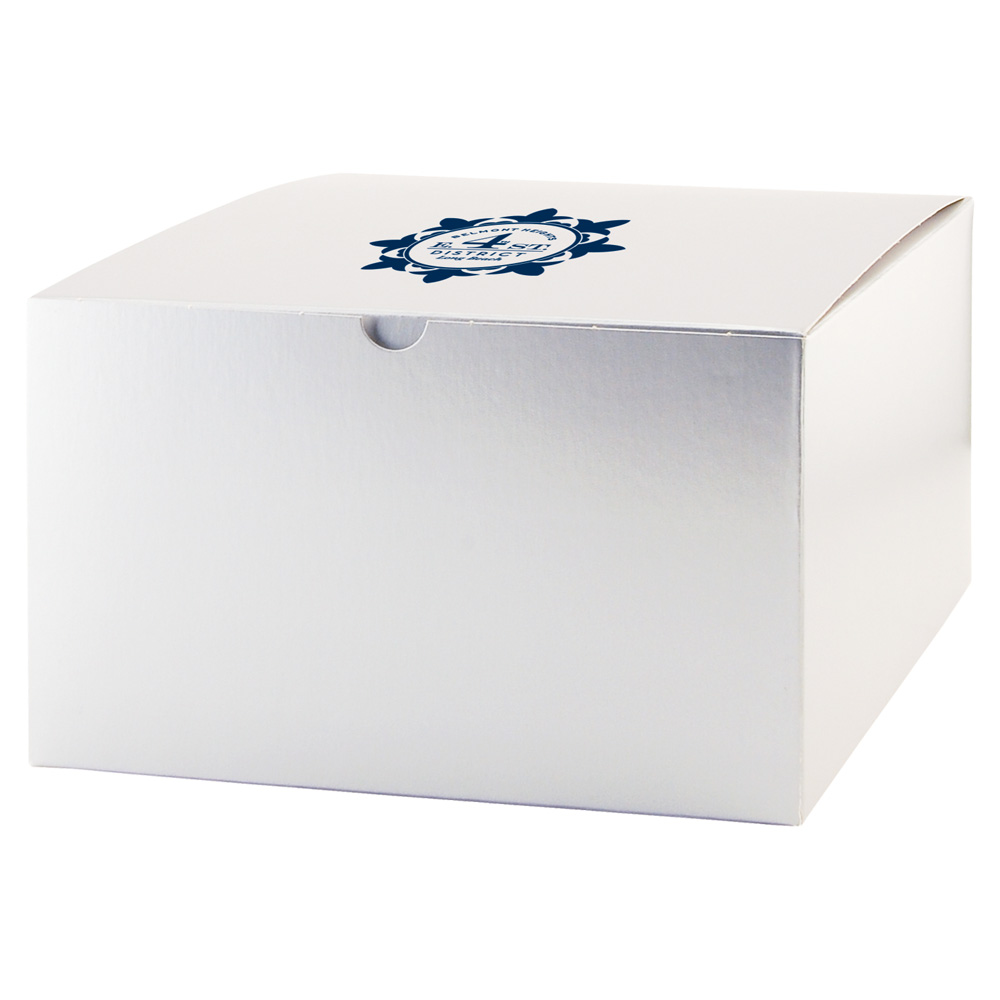 Fold up gift box color gloss 4gft10106g silver negle Gallery