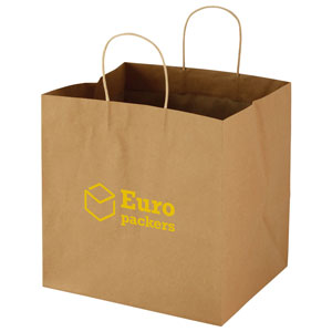 Wide Gusset Takeout Bag