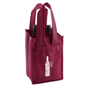 4 Bottle Wine Totes