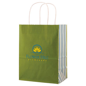 White Tints and Prints Shopping Bags