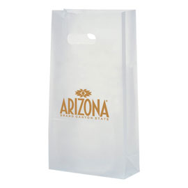 Frosted Die Cut Totes