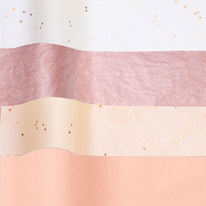 Special Assortment Tissue - Rose Gold